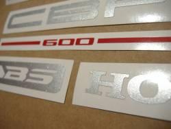 Honda CBF600S pc38 2005 blue replica graphics kit