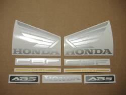 Honda CBF600 pc38 2005 black replacement decal set