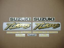 Suzuki TL 1000s 1997 red complete decal set