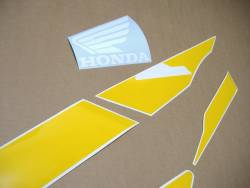 Honda CBR 600f F3 1997 purple-yellow replacement stickers