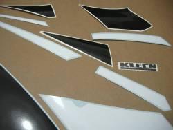 Kawasaki ZX-6R Ninja 2000 J1 green replica adhesives
