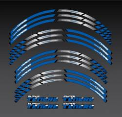 Yamaha XTZ 750 or 1200 blue wheel stripes kit