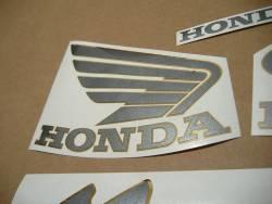 Honda Hornet 600S 2003 black reproduction adhesives