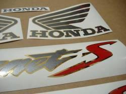 Honda Hornet 600S 2003 black reproduction sticker set