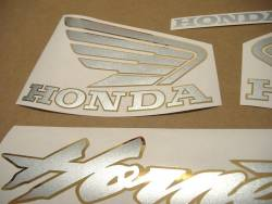 Honda Hornet S 600 2002 blue replica sticker set