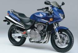Honda Hornet S 600 2002 blue replica graphics