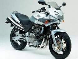 Honda Hornet S 2002 silver grey replacement graphics