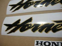 Honda Hornet S 2002 silver grey replacement adhesives