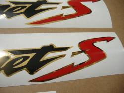 Honda Hornet S 2002 silver grey replacement logo emblems