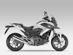 Honda NC750X 2015 white reproduction graphics set