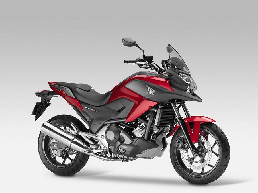 Honda NC750X 2014 replica sticker/logo set - bordeaux red ...