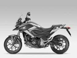 Honda NC750X 2015 silver grey restoration graphics set