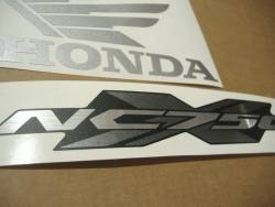 Honda NC750X 2015 silver grey restoration stickers set