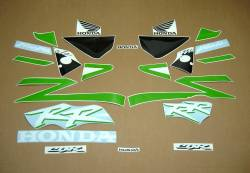 Honda CBR 954RR Fireblade sc50 custom lime green graphics