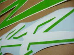 Honda CBR 954RR Fireblade sc50 custom lime green stickers