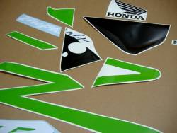 Honda CBR 954RR Fireblade sc50 custom poison green graphics