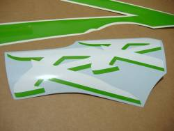 Honda CBR 954RR Fireblade sc50 custom poison green stickers