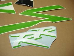Honda CBR 954RR Fireblade sc50 custom poison green decals