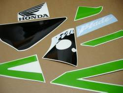 Honda CBR 954RR Fireblade sc50 custom poison green adhesives