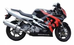 Honda CBR 600f F3 1997-1998 reproduction graphics