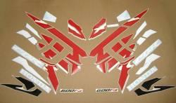 Honda CBR 600f F3 1997-1998 replica stickers set