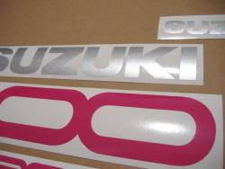 Suzuki RF900R (RF9) 1996-1997 black reproduction decals
