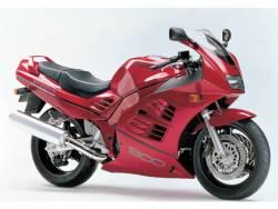Suzuki RF 900R 1994-1998 red full replica sticker set