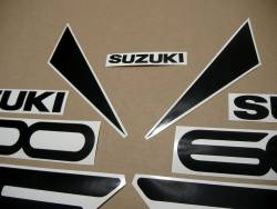 Suzuki RF 600R 1994-1995 yellow complete replacement decal kit