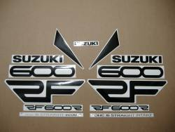 Suzuki RF 600R 1994-1995 yellow replacement graphics set