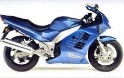 Suzuki RF600R 1996-1997 blue/green replica adhesives set