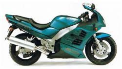 Suzuki RF600R 1997 green complete graphics set