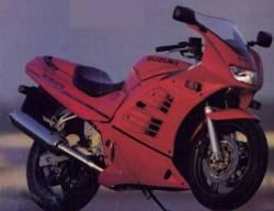Suzuki RF600R 1996-1998 red full decals set