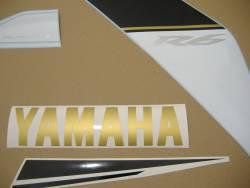 Yamaha R6 2008 RJ15 blue labels graphics
