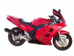 Suzuki RF600R 1996 red restoration adhesives set