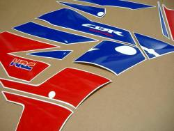 Honda CBR 600RR 2013-2014 HRC replacement graphics set