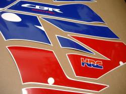 Honda CBR 600RR 2013-2014 HRC complete replica decal kit