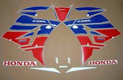 Honda CBR 600RR 2013-2014 HRC replica stickers set