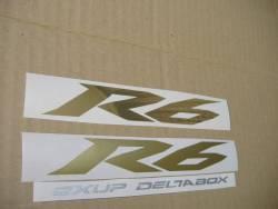 Yamaha YZF-R6 2009 13S black logo graphics