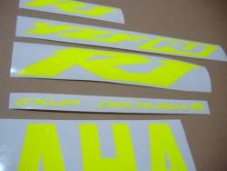 Yamaha R1 5pw rn09 2003 neon signal yellow graphics