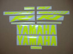 Yamaha R1 5pw rn09 2003 neon signal yellow stickers
