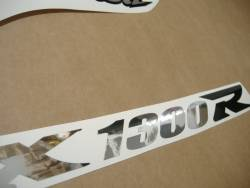 Suzuki Hayabusa 2004 GSX1300R chrome mirror stickers set