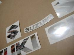 Suzuki Hayabusa 2006 custom chrome mirror logo emblems