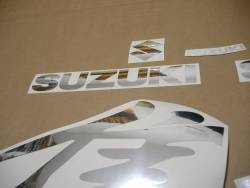Suzuki Hayabusa 2002 custom chrome mirror silver adhesives