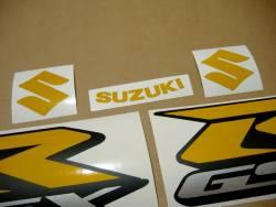 Suzuki Gixxer 750 signal light reflective yellow decals kit