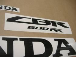 Honda CBR 600RR 2015 red replica logo stickers