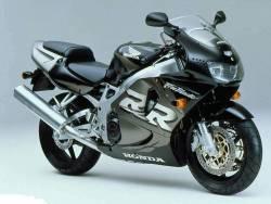 Honda 919RR 1998 SC33 black full decals kit