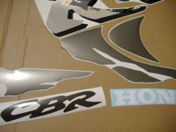 Honda 919RR 1998 Fireblade black stickers set