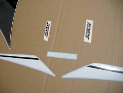 Honda CBR 600RR 2016 white/black abs full sticker kit