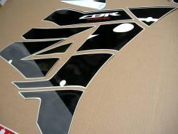 Honda CBR 600RR 2016 white/black full replica sticker set