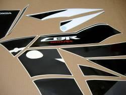 Honda CBR 600RR 2016 white/black abs graphics